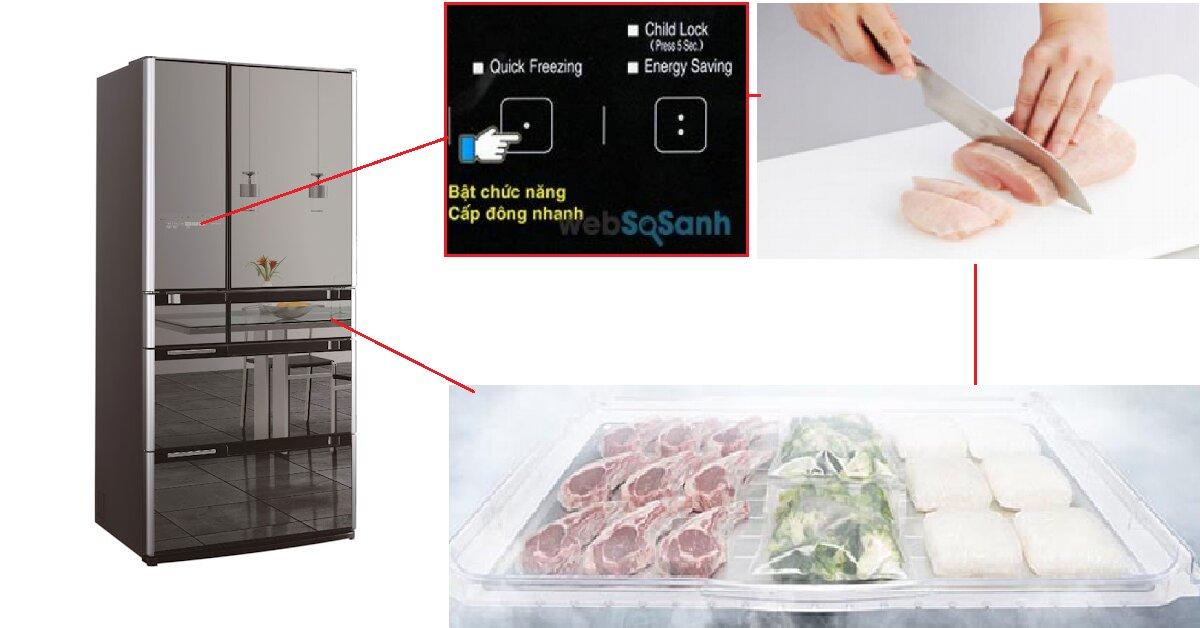 5 bí mật thú vị có thể bạn chưa biết về chế độ cấp đông nhanh trên tủ lạnh Hitachi